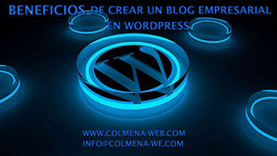 Beneficios de crear un blog empresarial en wordpress