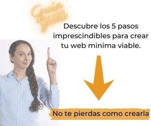Guía completa 5 pasos para crear tu web